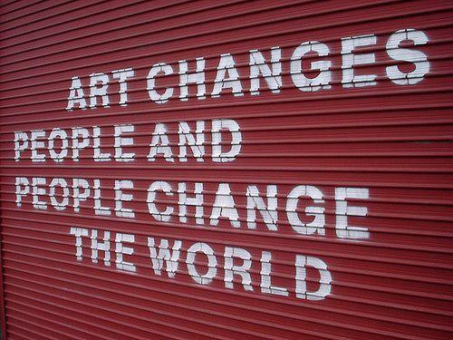 ARTE Student Voices: Can Art Change the World?