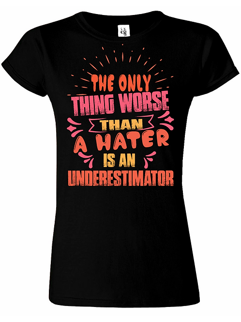 Never Underestimate Me! Pink