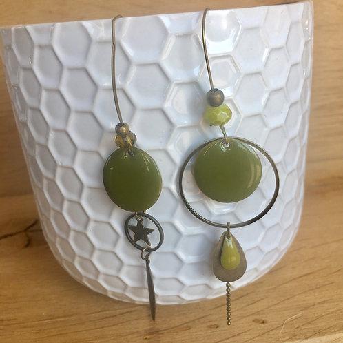 Audacieuses Vert Olive