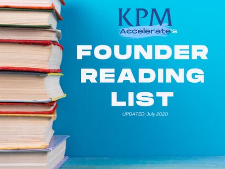 Chem-Tech Founder Reading List