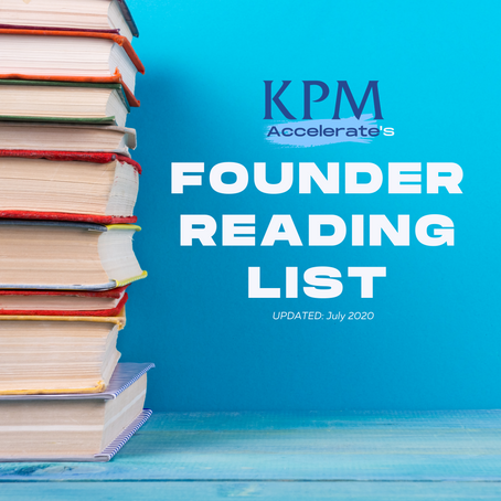 Chem-Tech Founder Reading List