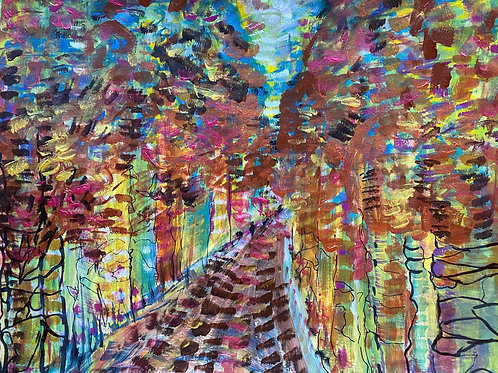 Sutherland Grove Autumn Walk