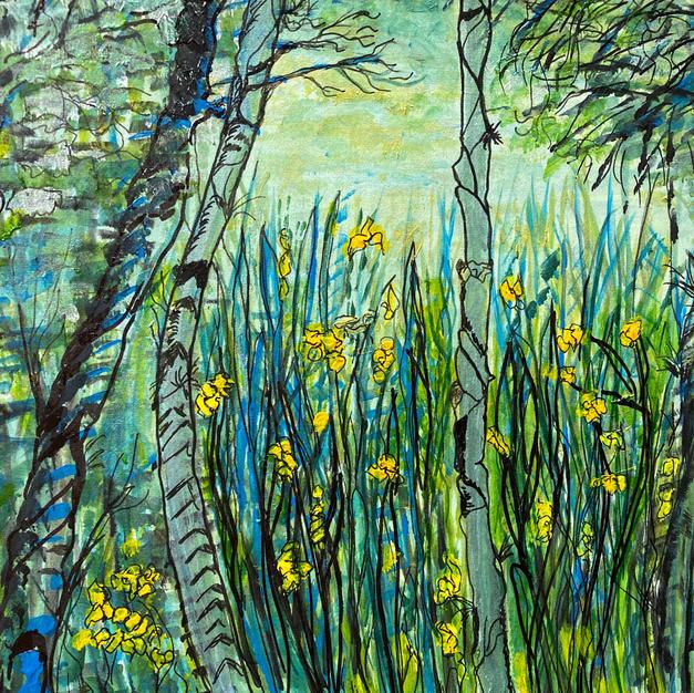 Water Irises, 2020
