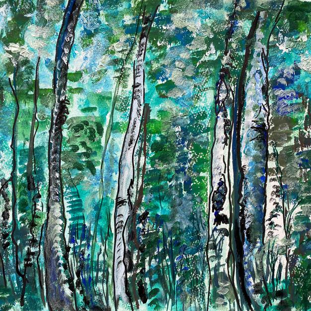 Silver Birches, 2020