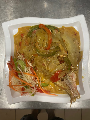 Steamed Fish Tray