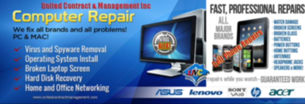 Tech support and repairs