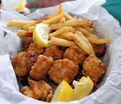 Fried Scallops and Fries