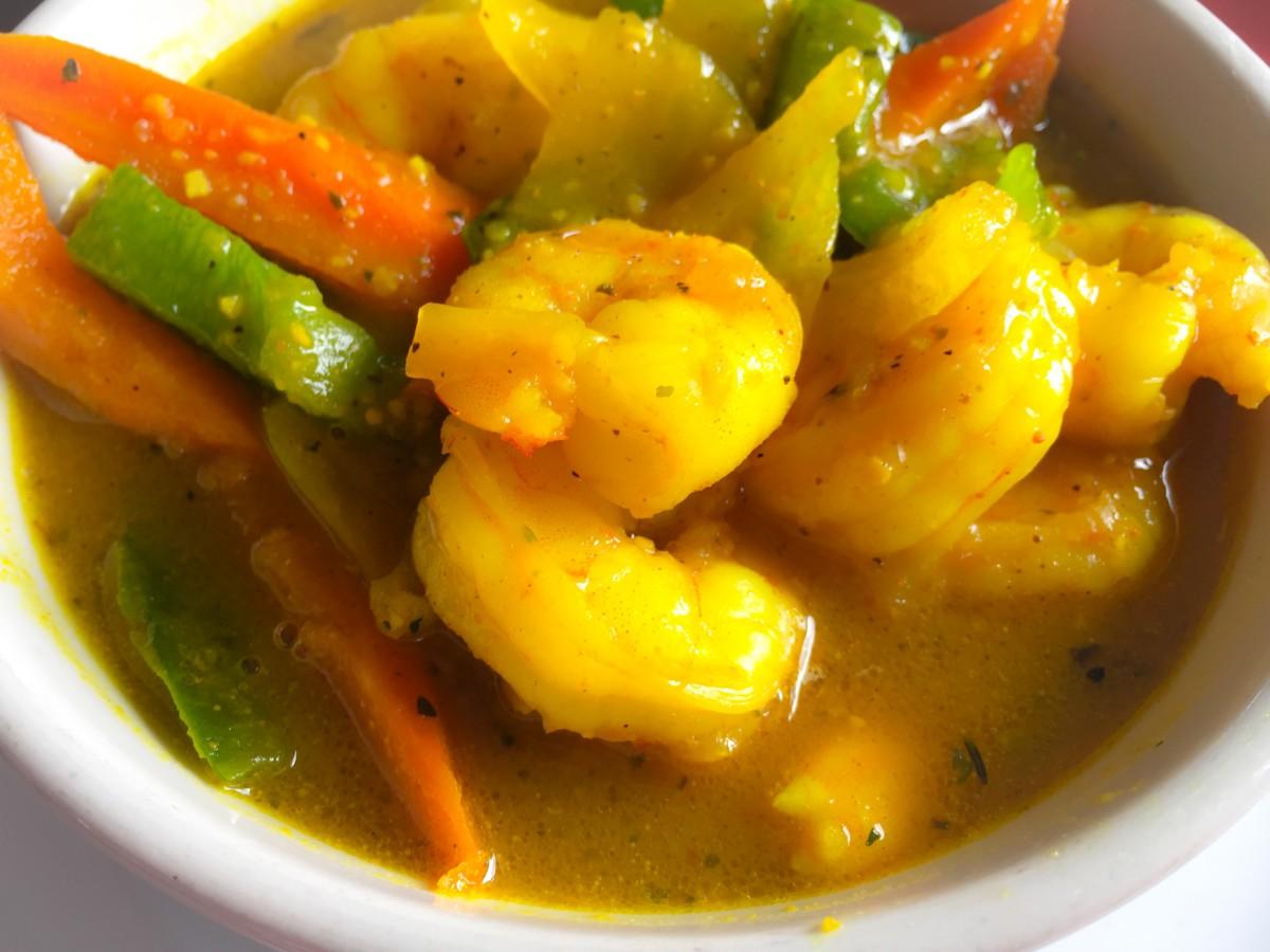 #17: Jamaican Curry Shrimp