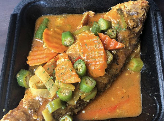 Brown Stew Snapper