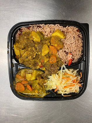 Curry Goat Tray