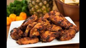 Pineapple habanero jerk chicken wings (5)