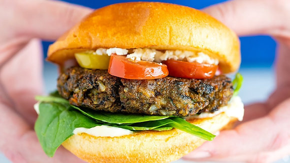 Jamaican Veggie Burger