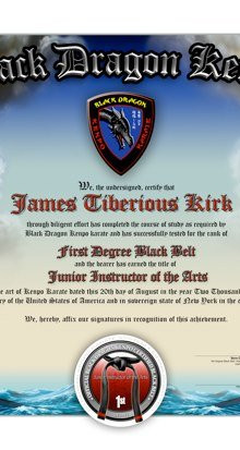BLACK DRAGON KENPO