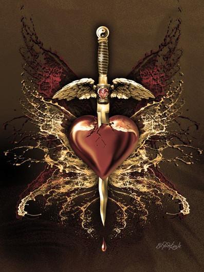 PEIRCING HEART