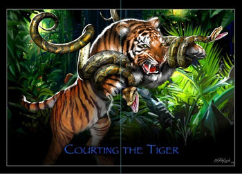 COURTING THE TIGER