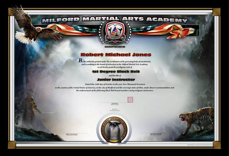 MILFORD MARTIAL ARTS ACADEMY