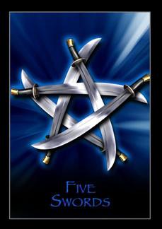 FIVE SWORDS