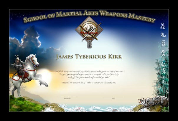 SCHOOL OF MA WEAPONS MASTERY