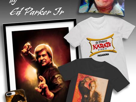 Ed Parker Sr. Tribute Artwork Now Available!