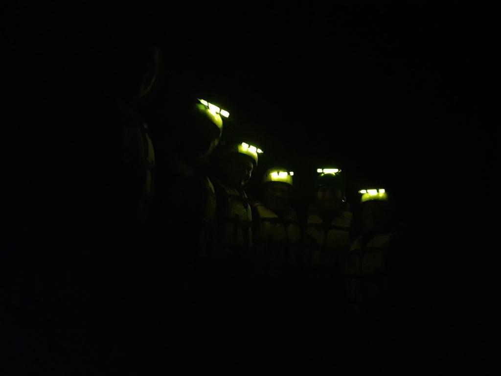 Night Rafting