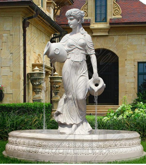 Скульптурный фонтан «ГРЕЧАНКА С ВАЗОЙ»