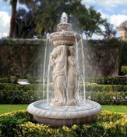 Мраморный фонтан «Мечтательность»