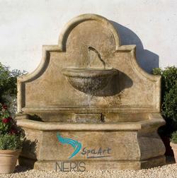 Садовый приставной фонтан «Люсия»