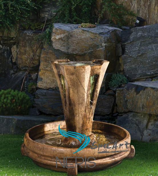 Небольшой садовый фонтан «Везувий»