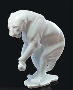 «Детеныш Пантеры», репродукция скульптуры французского скульптора Мэтью Флоран