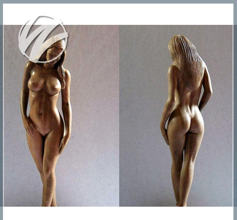 Скульптурная фигура для фонтана «Обнаженная женщина»