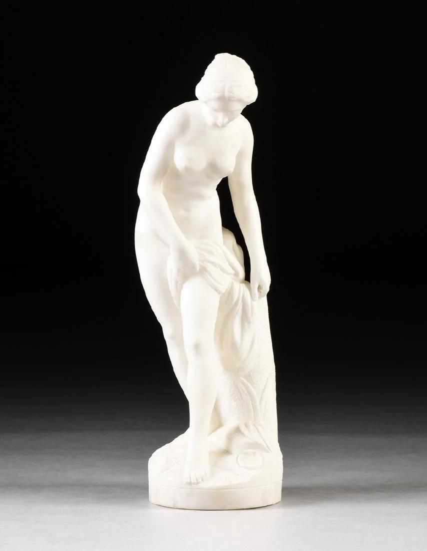 Скульптура «КУПАЛЬЩИЦА», реплика модели Этьена Фальконе, Италия