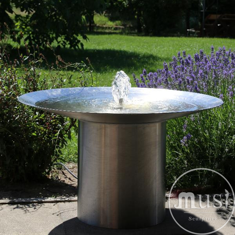 """Водный объект """"Плоская чаша, стоящая на цилиндре"""""""