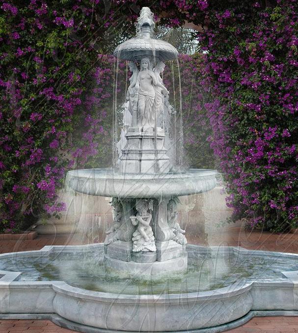 Мраморный фонтан «Cад Англии»