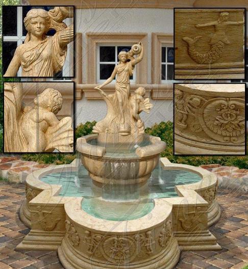 Мраморный фонтан «Магия Волшебства»