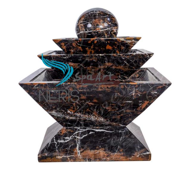 Многоуровневый фонтан из мрамора «микеланджело»