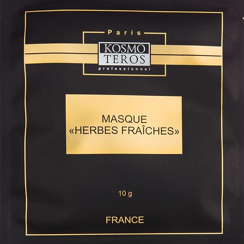 Тонизирующая  маска «Свежие травы», 10 гр