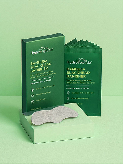 BAMBUSA BLACKHEAD BANISHER, очищающая маска против черных точек, 8 шт