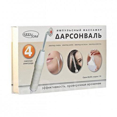 Дарсонваль для лица, тела и волос с 4мя насадками Biolift4 118 (BT 118),Gezatonе