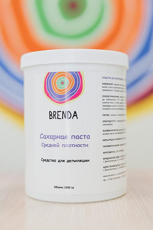 "Паста ""средняя"" BRENDA 1500 гр."