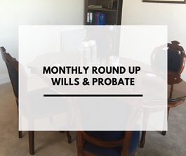 Wills and Probate Month