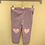 Thumbnail: Brand new with tags - Hatley lilac Heart leggings - size 6-9 months