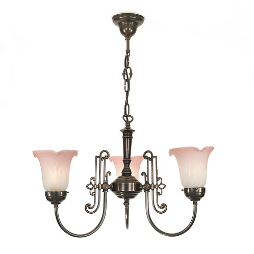 Slim Eton Chandelier 3 Arm