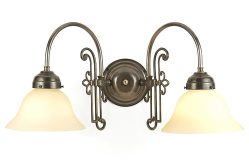 Slim Eton Double Wall Light