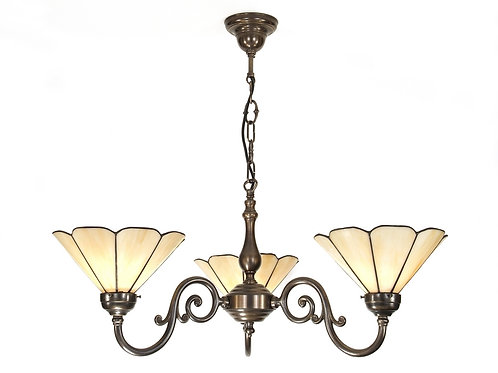 Grande Large Chandelier 3 Arm