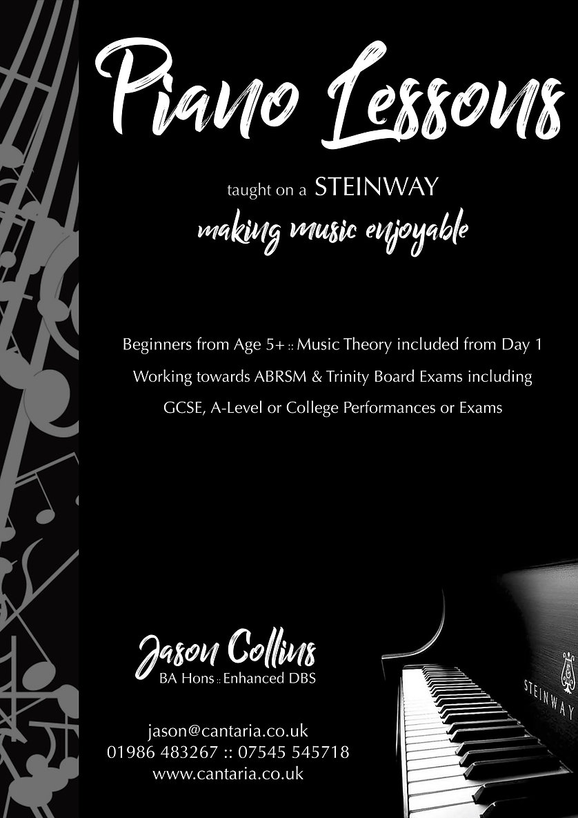Jason Collins Piano Lessons