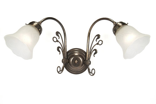 Fleur De Lys Double Wall Light
