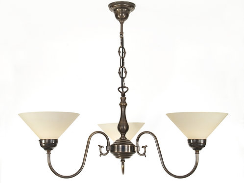 Flemish Chandelier 3 Arm