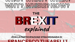 """Marzo 2019 - """"The Brexit explained"""""""