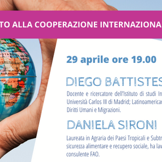 29 aprile 2020 - Webinar di orientamento alla Cooperazione internazionale