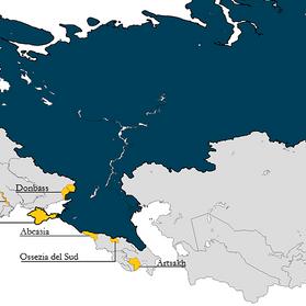 """La Federazione Russa e la strategia dei """"conflitti congelati"""""""